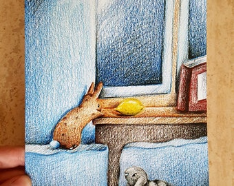 """Art print """"Lemon Robber"""""""