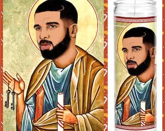 Drake Prayer Candle GREAT GIFT! Saint Drake