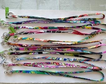 Vera Bradley Lanyards in 11 Patterns