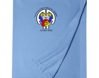 504th Parachute Infantry Regiment Embroidered Blanket-3267