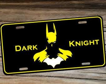 Batman Dark Knight Custom License Plate