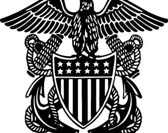 Naval Officer Crest Decal