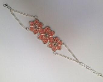 Bracelet in Miyuki beads