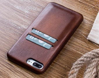 Brown iPhone 8 Case, Leather iPhone 8 Case, iPhone 8 Plus Case, Leather iPhone 8 Plus Case, Leather iPhone Case, iPhone 8 Brown Case