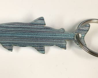 Blue Brook Trout Keychain