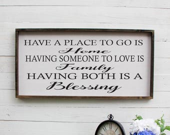 Have A Place To Go Is Home Sign Bedroom Sign Couples Sign Above Bed Romantic Bedroom Decor Rustic