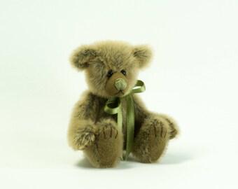 Beige and Brown Mini Teddy Bear