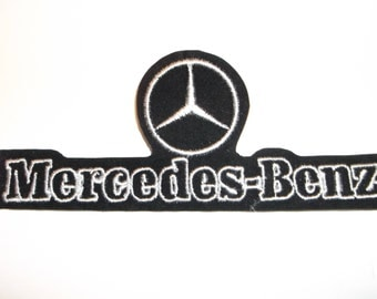 Mercedes benz patch etsy for Mercedes benz iron