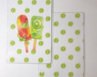 Kiwi Fruit Mini Happy Planner Cover