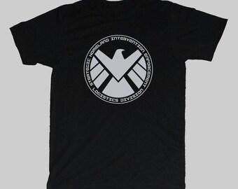 Men's Marvel Agents of Shield avengers series T-shirt