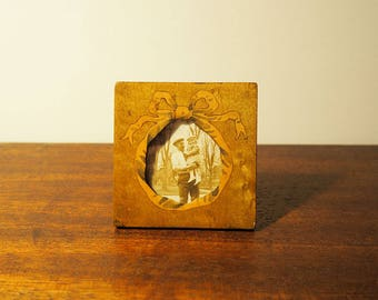 Small Wooden Photo Frame