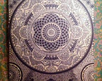 One off piece - Sacred Geometry - (Goldstargate)