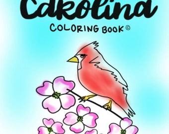 North Carolina Coloring Book