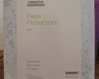Creative Memories True 12x12 Page Protectors