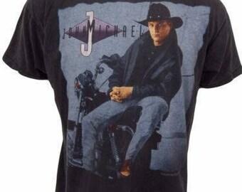 Vintage 1994 John Michael Montgomery Concert Shirt Size L Country Music
