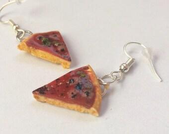 Part of Pizza earrings