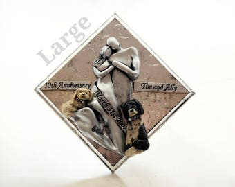 Add A Pet To Your Anniversary Plaque