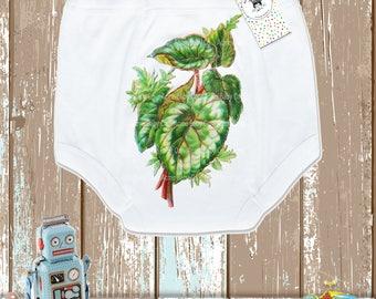 Toddler Gift, Retro Toddler, Begonia Leaf, Training Underwear, Toddler Undies, Trainer Pants, Vintage Graphic, Potty Pants, Retro Pants