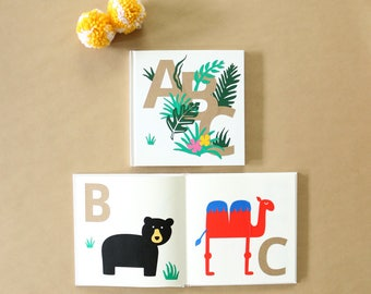 DIY Alphabet Guestbook - Baby Shower Guestbook, Activity Game, and Keepsake - Baby's First Alphabet Book