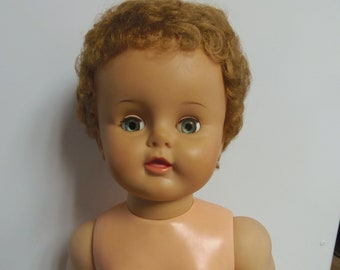 Vintage Ideal Doll Marked OB-25-5 on Neck
