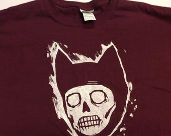 Large maroon color starheadboy t-shirt