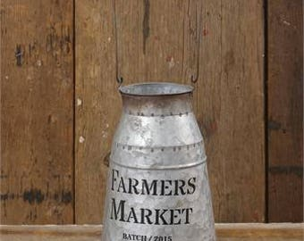 Farmers Market Milk Can~Farmhouse Decor