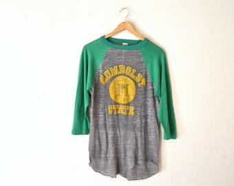1970's Humboldt State Paper Thin Shirt
