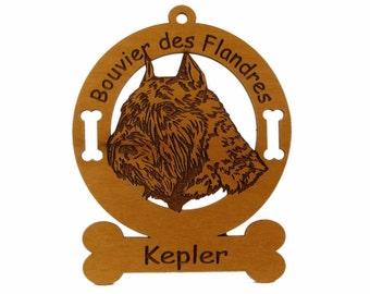 1932 Bouvier des Flandres Personalized Dog Ornament