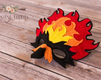 River the Phoenix Phoenix Mask for Costume or Pretend Play