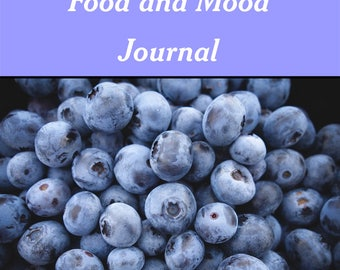 Food and Mood Journal | 21 Day Printable Journal | Daily Food Log | Instant Download | Health and Wellness | Three Week Food Diary