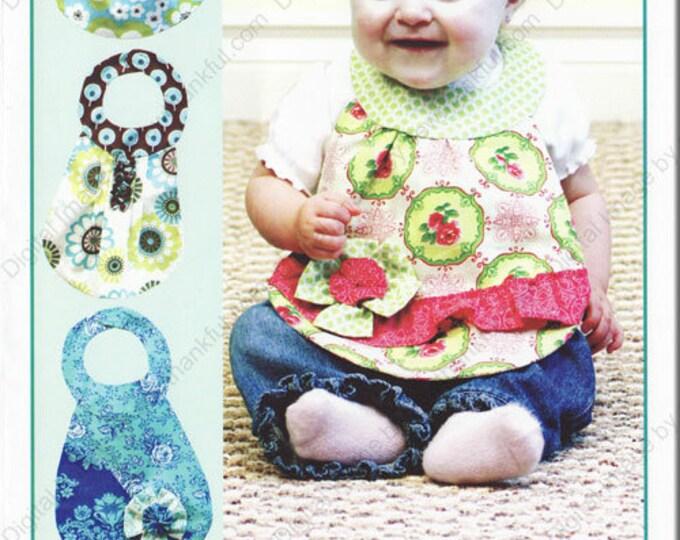 Children's Bib Patterns, Diva Babies Boutique Baby Bib Pattern by Vanilla House Designs