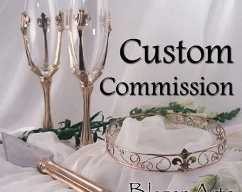 Custom Listing for Lisa to Contour Her 14K Yellow Gold Versailles Band to Her Engagement Ring~Order #1218202806