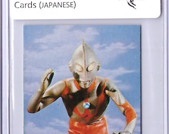 RARE 1969 Ultraman Card in JAPANESE Ultraman 18021009