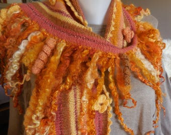 Unique fun soft scarf