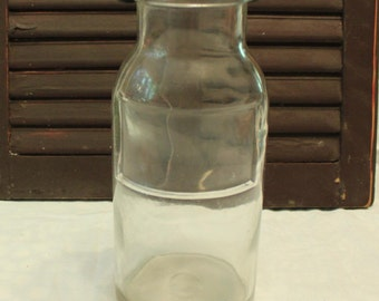 Wheaton Apothecary Glass Jar w/Cast Iron Screw Top Clamp