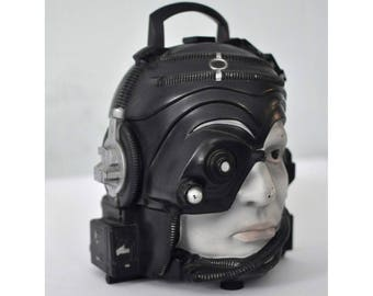 Vintage Star Trek Next Generation Lunchbox Talking Borg Cyborg 1993 Unique Head