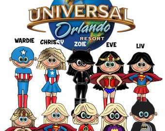 UNIVERSAL STUDIOS 2018 Shirts, Shirts for Universal Studios, Universal Studios Vacation tshirts, Family Universal Studios Shirts, Universal