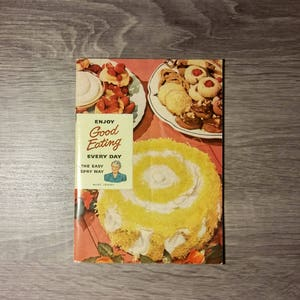 The easy spry way etsy vintage 1949 enjoy good eating every day the easy spry way by aunt jenny from lever forumfinder Images