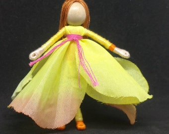 Flower Fairy - Spring Fairy Doll -  Waldorf Flower Fairy - Flower fairy