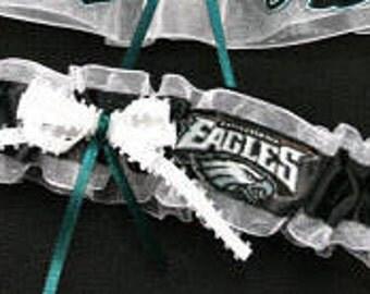 Philadelphia Eagles Handmade NFL Toss Garter