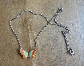 Butterfly necklace | 1990's by cubevintage