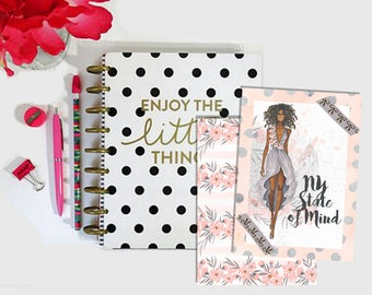Digital Printable Traveler's Notebook TN Planner Dashboard Spring Midori Fauxdori Chic Sparrow Foxy Fix Nayapaperie - Stick to Your Story