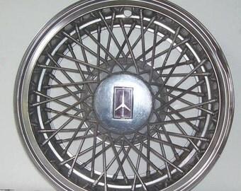 Oldsmobile Cutlass Spoke Hub Cap, Wire Spoke , Wire Wheel Cover , Steel Wheel, One Car Hub Cap, Automobile Part, Car Parts, Tire Cover