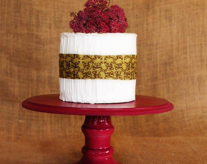 Raspberry Pink Custom Cake Stand