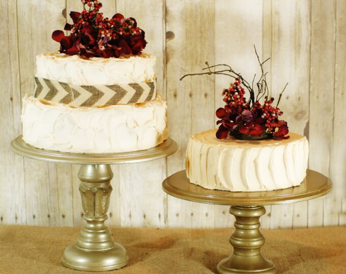 Gold Custom Cake Stand