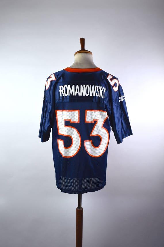 f4c7e889871 ... buy bill romanowski denver broncos jersey by starter size 46 159a6 271dc