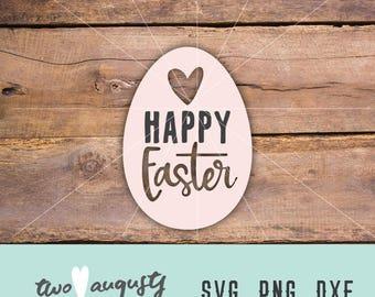 Happy Easter SVG, DXF, & PNG, Christian, svg Files, svg for Cricut, svg for Silhouette, Easter, Love, Jesus, God, Risen, Savior, egg, spring