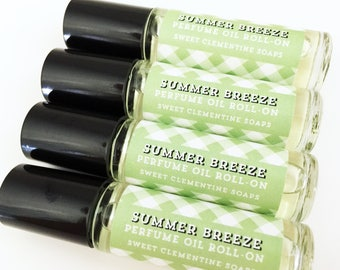 Summer Breeze Perfume Oil Roll On, Fragrance Oil Roll On