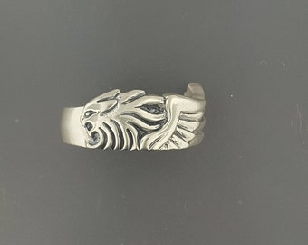 Sterling Silver Squall Leonhart ring from Final Fantasy 8 Version 2