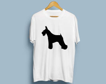 Miniature Schnauzer - Digital Download, Miniature Schnauzer Art, Dog Silhouette, Dog Decor, SVG, JPG, PDF